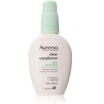 AVEENO Active Naturals Clear Complexion Daily Moisturizer 4 oz - Walmart.com