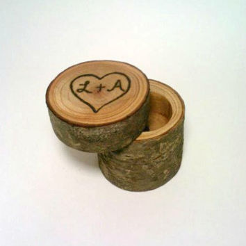 Anniversay Gift, Primitive Jewelry Box, Primitive Ring Bearer Box, Marriage Proposal Box, Shabby Chic Jewelry Box, Ring Holder