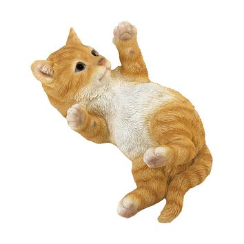 Home Decor Ideas Kitty Cat In Motion Figurine