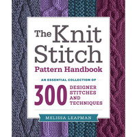 Potter Craft Books-The Knit Stitch Pattern Handbook