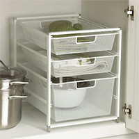 The Container Store  Cabinet-Sized elfa Mesh Drawer Solution