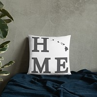 Hawaii Home State Pillow