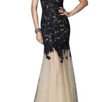 Sunvary Fancy Mermaid Lace Prom Dress Pageant Dress for Evening Long