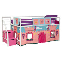 You should see this Princess Castle Loft Bed Curtain Set in Pink on Daily Sales!