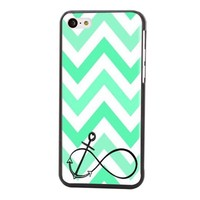 Hot Sale New Fashion Hybrid Hard Shell Style Back Case Cover Skin For Apple iPhone 5C+Screen cleaning cloth