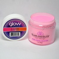 Glam and Glits GLOW ACRYLIC Glow in the Dark Nail Powder 2008 - HI AURORA!