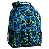 Gear-Up Neon Pixel Backpack