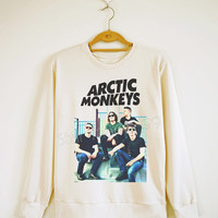 Arctic Monkeys TShirt Indie Rock TShirt Rock Sweater Shirt Sweatshirt Jumpers Shirt Long Sleeve Shirt Women Shirt Unisex Shirt Size S,M,L