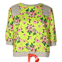 Carrie Floral Sweat