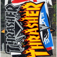 Thrasher 10 Pack of Assorted Decals