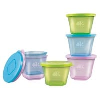 NUK 6pc Stack & Store Baby Food Cups