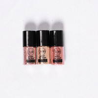 Shine Bright Sparkling Powder Pack - Rosey Golds