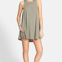 Junior Women's RVCA 'Sucker Punch' Swing Dress,