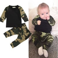 Baby Clothes Set Baby Boys Clothes Suit Toddler Boys Clothing Long Sleeve Tshirt Pants Casual Tracksuits Clothes 19