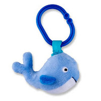 Whale Ziggle Clip Toy