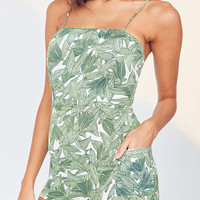 OBEY Tropique Tie-Back Romper | Urban Outfitters