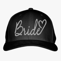 Bride Embroidered Baseball Cap