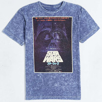 Star Wars Poster Mineral Wash Tee - Urban Outfitters