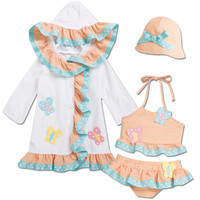 From CWDkids: Butterfly Suit, Cover-Up and Hat.