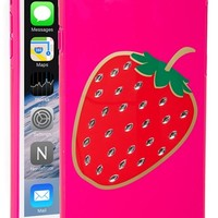 kate spade new york 'embellished berry' iPhone 6 Plus case - Pink