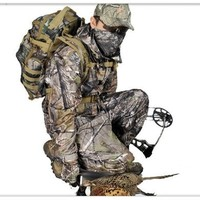 Remington APG camouflage hunting clothes suit fishing jacket and pant waterproof mesh lining hunting set C233