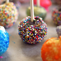 Birthday Cake Pops! And a story of self-kindness. | One Hungry Mama