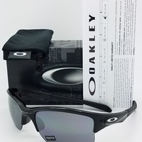 NEW Oakley Quarter Jacket Sunglasses Black BLK Irid 9200-01 kids youth AUTHENTIC