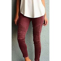fhotwinter19 Women's new fashion hot sale tight pants