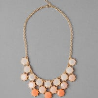Alva Stone Bib Necklace