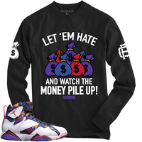 OutRank Apparel Let 'Em Hate Sweater 7's Long Sleeve Tee