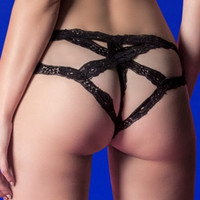 Cage Back Cheeky Panty