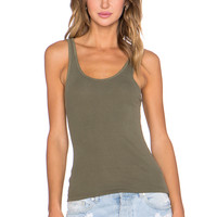 James Perse The Daily Racer Tank in Surplus