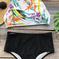 Cupshe Color Of Inspiration Floral Bikini Set