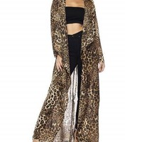 Get Attention Leopard Duster