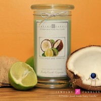 Coconut Lime Verbena Jewelry Candles