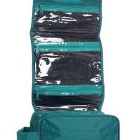 Hanging Toiletry Cosmetics Travel Bag, Teal