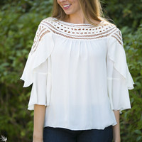 Night at The Riviera Blouse