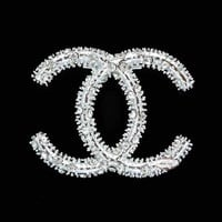 Chanel Logo Pin Brooch RD449