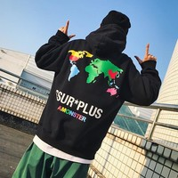 Hats Men's Fashion Couple Hoodies [1004735103012]