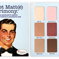 the Balm Meet Matt(e) Trimony.® Eyeshadow Palette