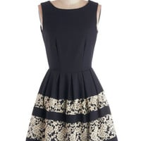 A Dreamboat Come True Dress in Navy