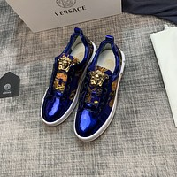 VERSACE Fashion Men Women's Casual Running Sport Shoes Sneakers Slipper Sandals High Heels Shoes12