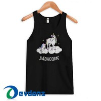 Dadacorn Graphic Tank Top Men And Women Size S to 3XL