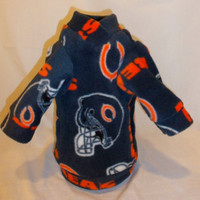 NFL Logo Fleece Pullover or Dog or Cat Hoodie  Most Teams available