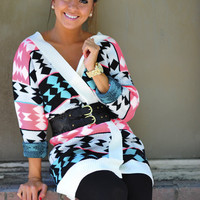 RESTOCK: Livin' Out Of Love Sweater: Multi | Hope's