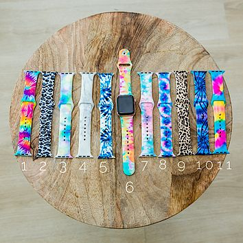 Print Watch Bands - 11 Styles