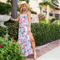 Cabana Bloom Floral Maxi Dress