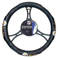 Pittsburgh Steelers NFL Licensed Steering Wheel Cover