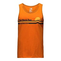 Men's Tequila Sunset Tank in Exuberance Orange by The North Face