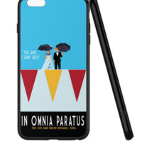 Back Cover For Apple iphone 6 6s Case Gilmore Girls In Omnia Paratus Printed Phone Case For 6 6s  TPU Capa -0531